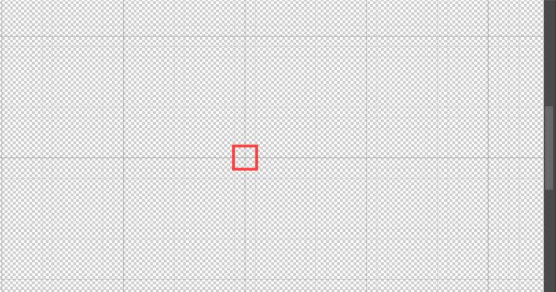 太線の交差した部分をクリック