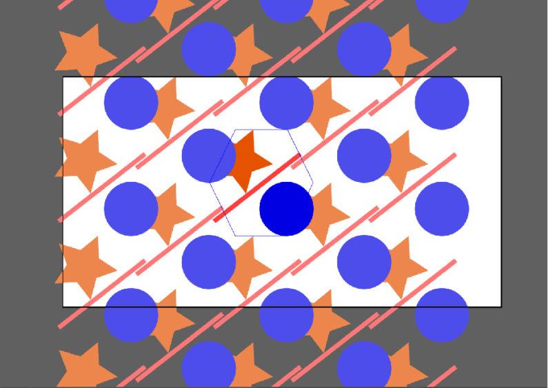 六角形(縦)