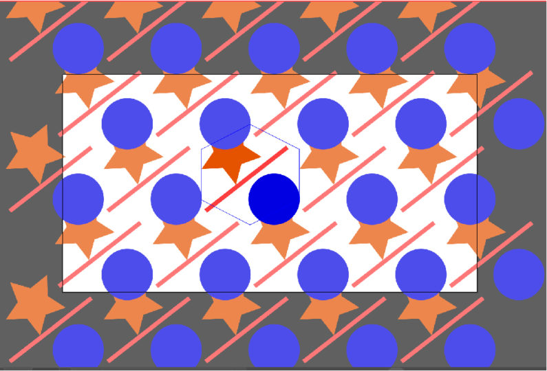 六角形(横)