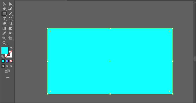 べた塗りの長方形