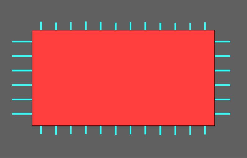 長方形を作成